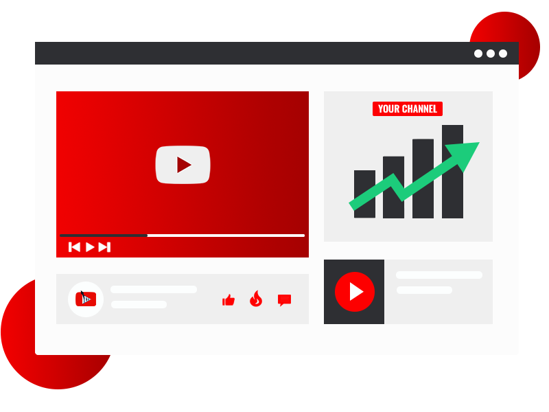 grow your youtube channel with our services