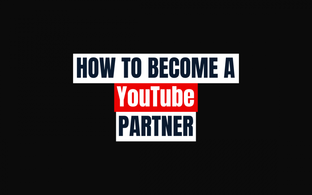 How to become a YouTube partner photo